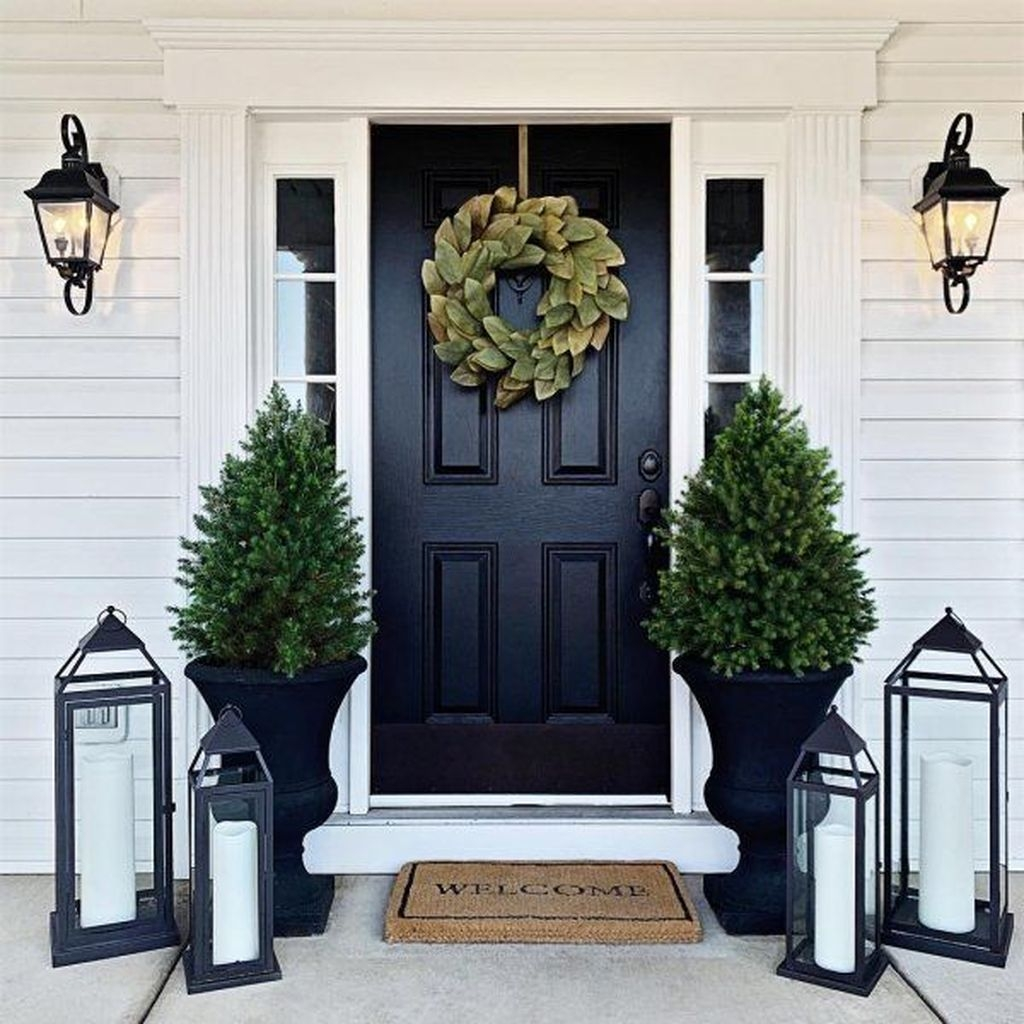Perfect Porch Planter Design Idseas That Will Give Your Exterior A Unique Look 36
