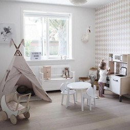 Pretty Playroom Design Ideas For Childrens 27