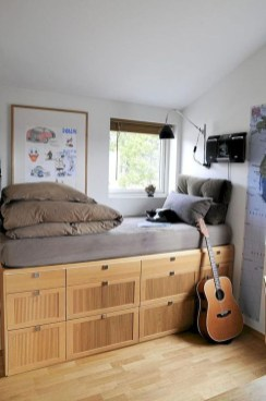 Spectacular Diy Bed Design Ideas That Suitable For Small Space 28