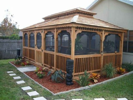 Stylish Gazebo Design Ideas For Your Backyard 06