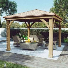 Stylish Gazebo Design Ideas For Your Backyard 14