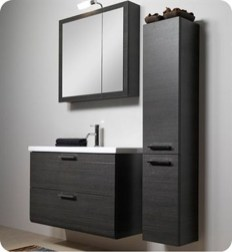 Wonderful Single Vanity Bathroom Design Ideas To Try 11