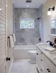 Wonderful Single Vanity Bathroom Design Ideas To Try 18