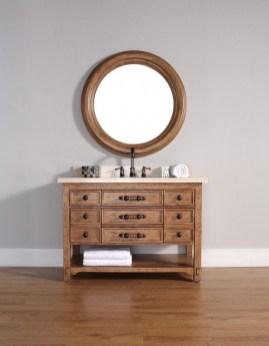 Wonderful Single Vanity Bathroom Design Ideas To Try 46