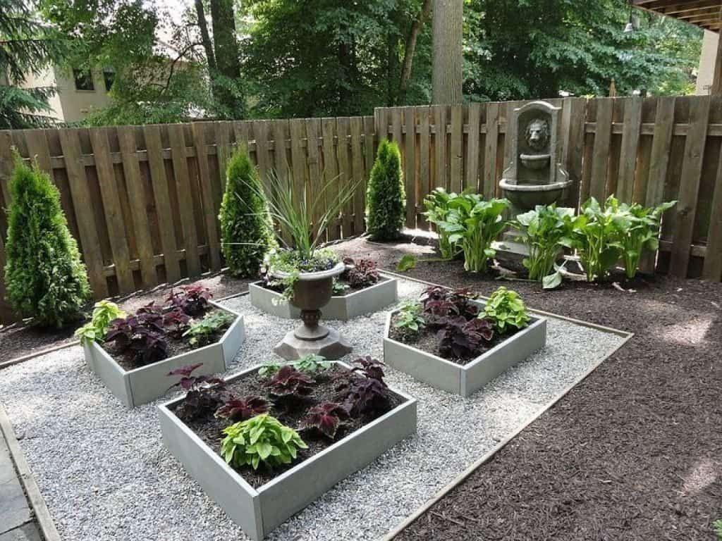 Adorable Garden Design Ideas With Low Maintenance24
