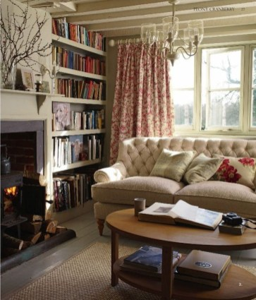 Amazing Country Living Room Design Ideas24