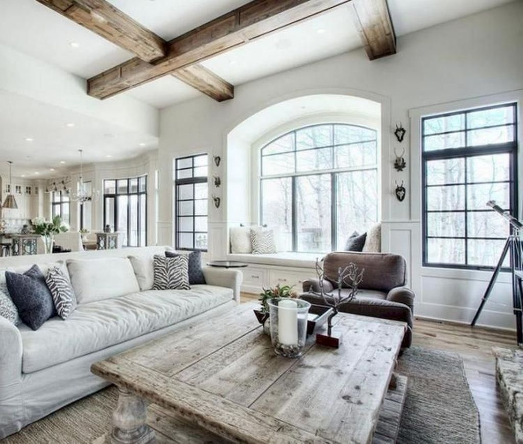 Amazing Country Living Room Design Ideas37