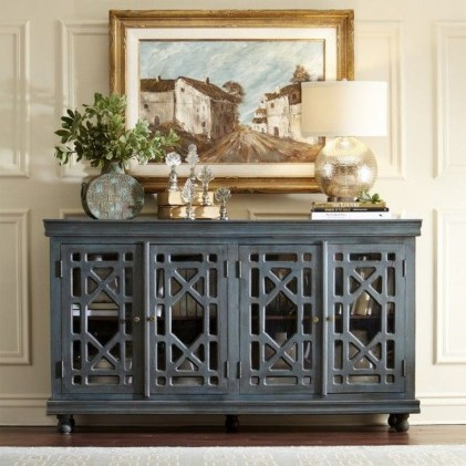 Awesome Dining Room Buffet Table Décor Ideas26