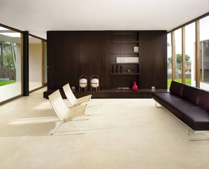 Awesome White Tiles Design For Living Room10