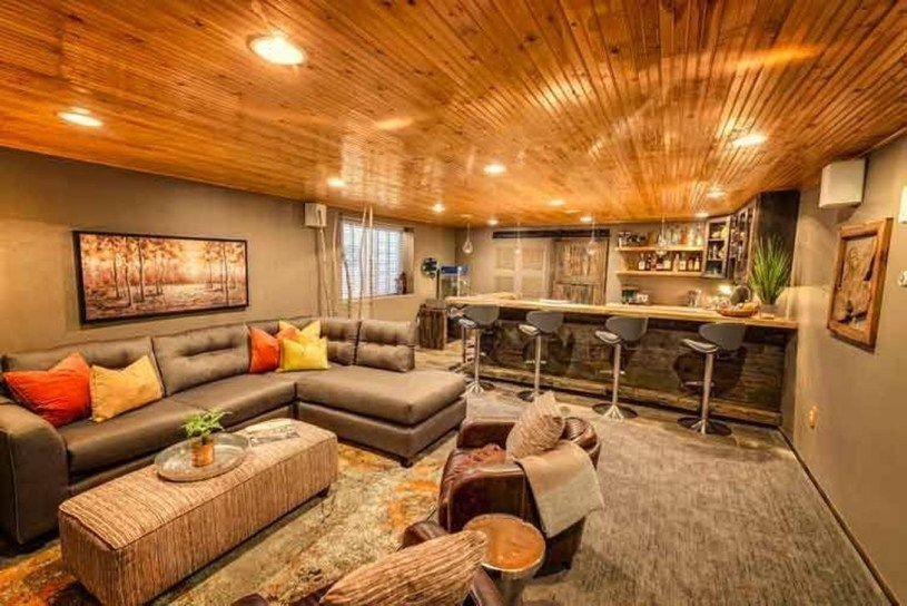 Cool Basement Living Room Design Ideas05