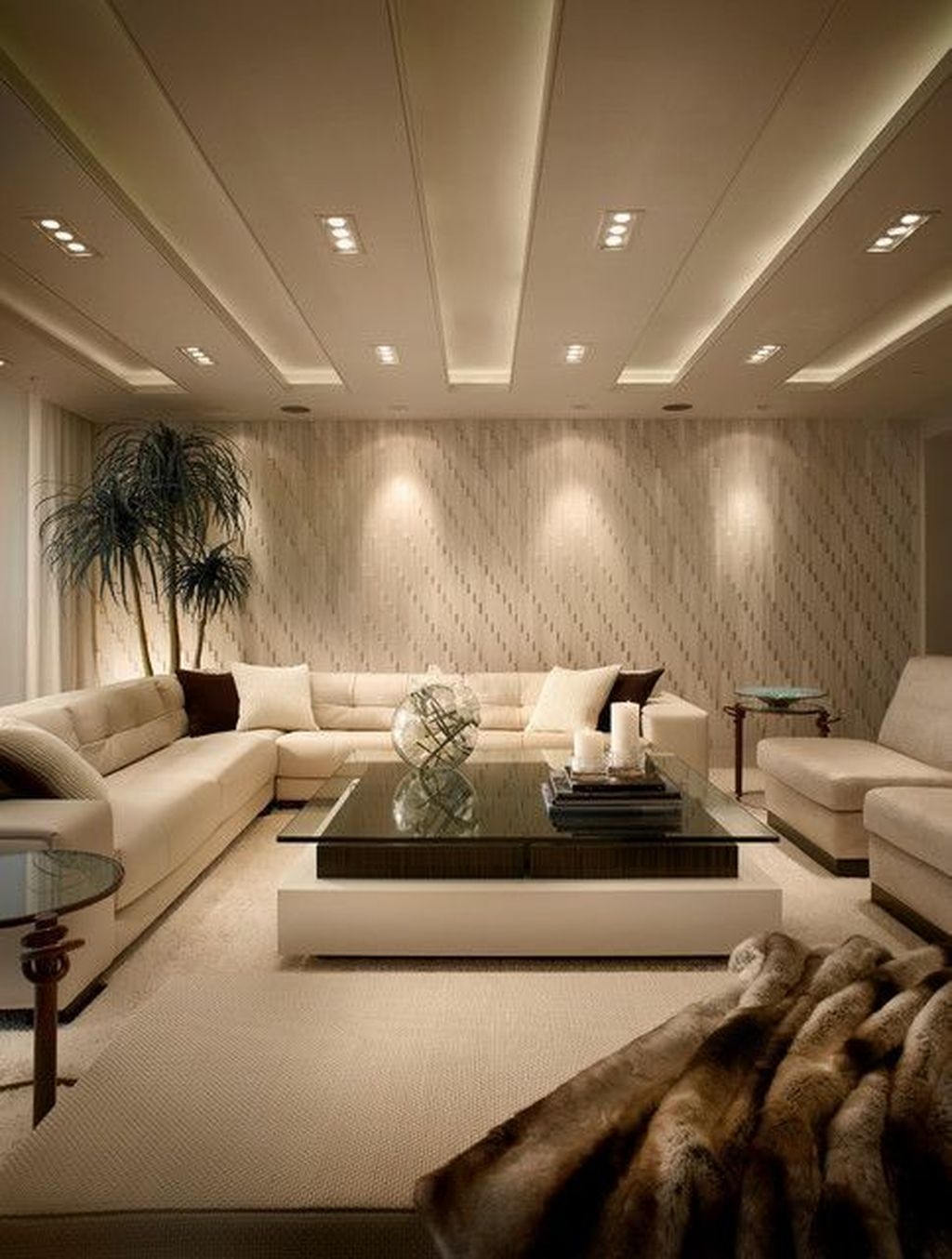 Cool Basement Living Room Design Ideas39
