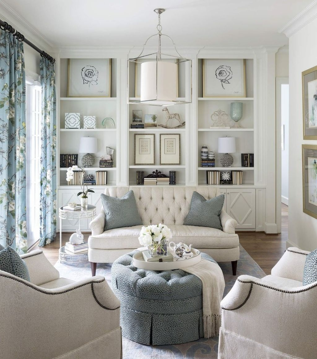 Gorgeous Cabinet Design Ideas For Small Living Room28
