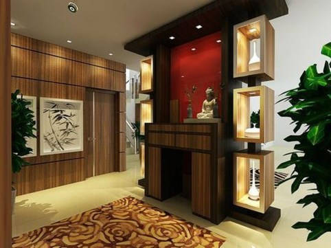 Gorgeous Cabinet Design Ideas For Small Living Room30