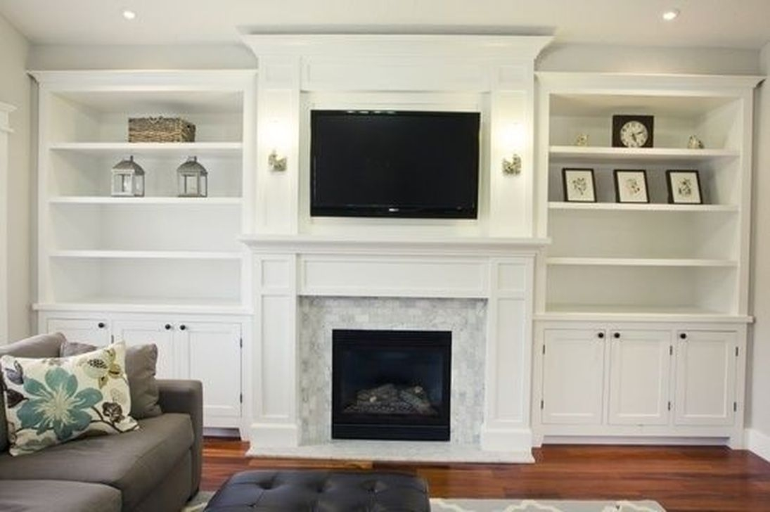 Gorgeous Cabinet Design Ideas For Small Living Room39