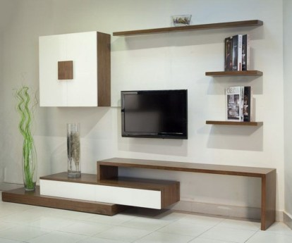 Gorgeous Cabinet Design Ideas For Small Living Room44
