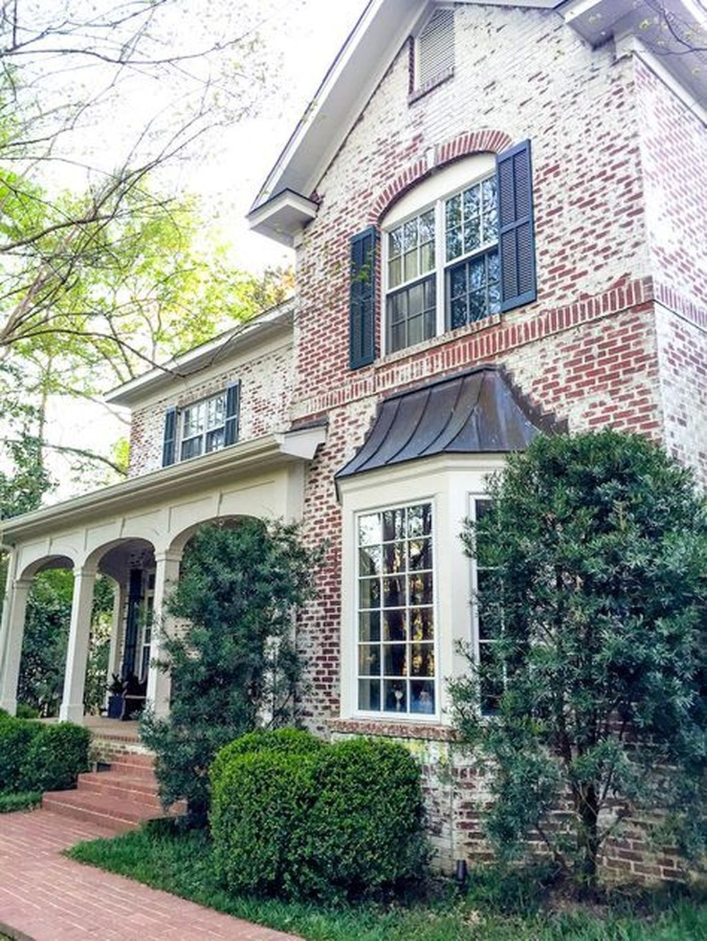 Adorable Brick House Exterior Makeover29