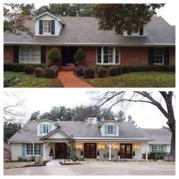 Adorable Brick House Exterior Makeover37