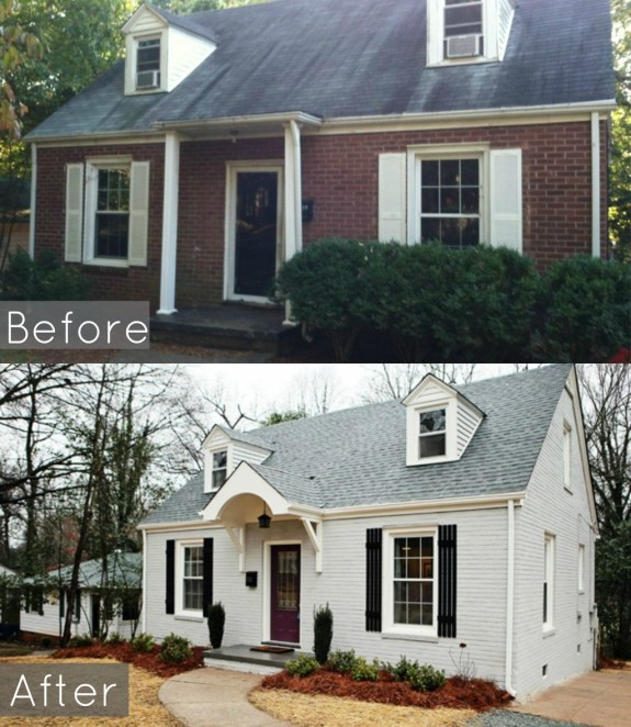 Adorable Brick House Exterior Makeover40