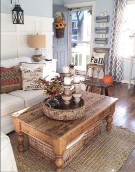 Adorable Fall Home Decor Ideas With Farmhouse Style08