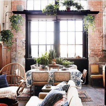 Adorable Loft Apartment Decor Ideas25