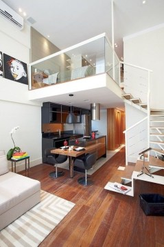 Adorable Loft Apartment Decor Ideas26