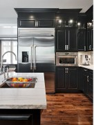 Affordable Black And White Kitchen Cabinets Ideas02