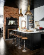 Affordable Black And White Kitchen Cabinets Ideas18