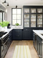Affordable Black And White Kitchen Cabinets Ideas21