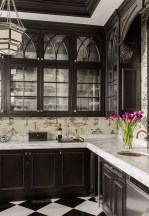 Affordable Black And White Kitchen Cabinets Ideas27