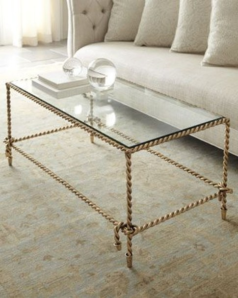 Awesome Glass Coffee Tables Ideas For Small Living Room Design09