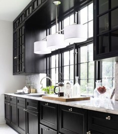 Best Ideas For Black Cabinets In Kitchen08