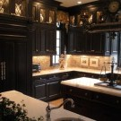 Best Ideas For Black Cabinets In Kitchen28