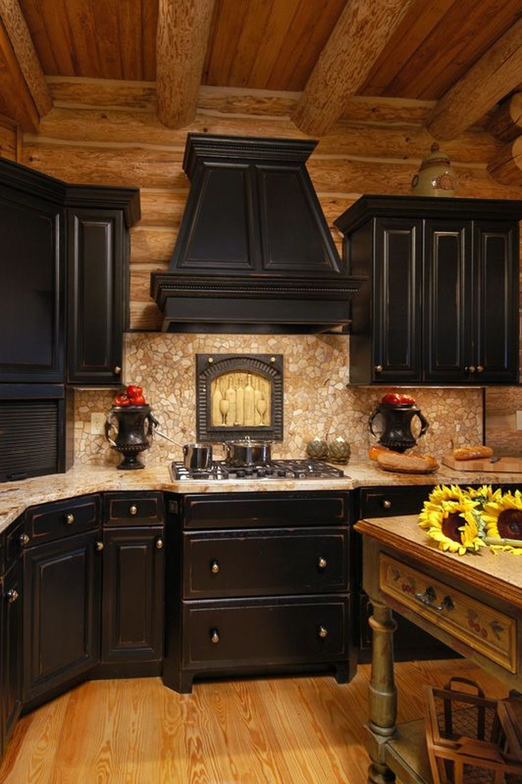 Best Ideas For Black Cabinets In Kitchen43