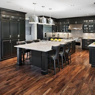 Best Ideas For Black Cabinets In Kitchen48