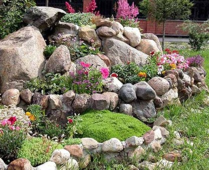 Creative Rock Garden Ideas For Your Backyard07