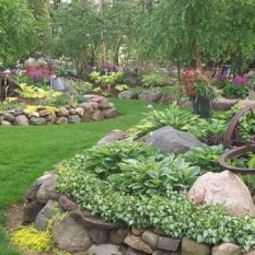Creative Rock Garden Ideas For Your Backyard22