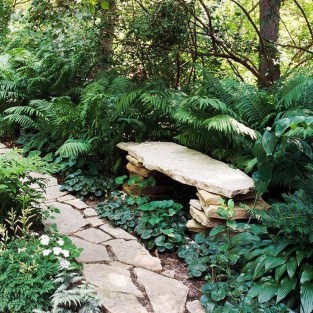 Creative Rock Garden Ideas For Your Backyard37
