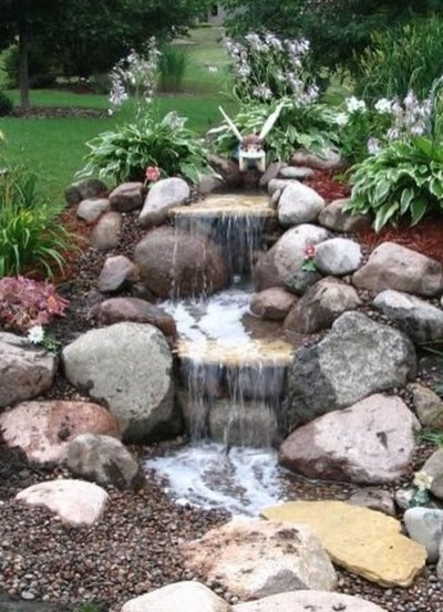 Creative Rock Garden Ideas For Your Backyard39