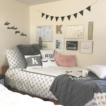 Easy Diy Projects For Your Dorm Room Design29