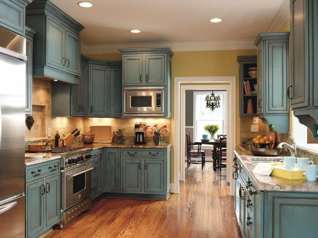 Easy Kitchen Cabinet Painting Ideas08