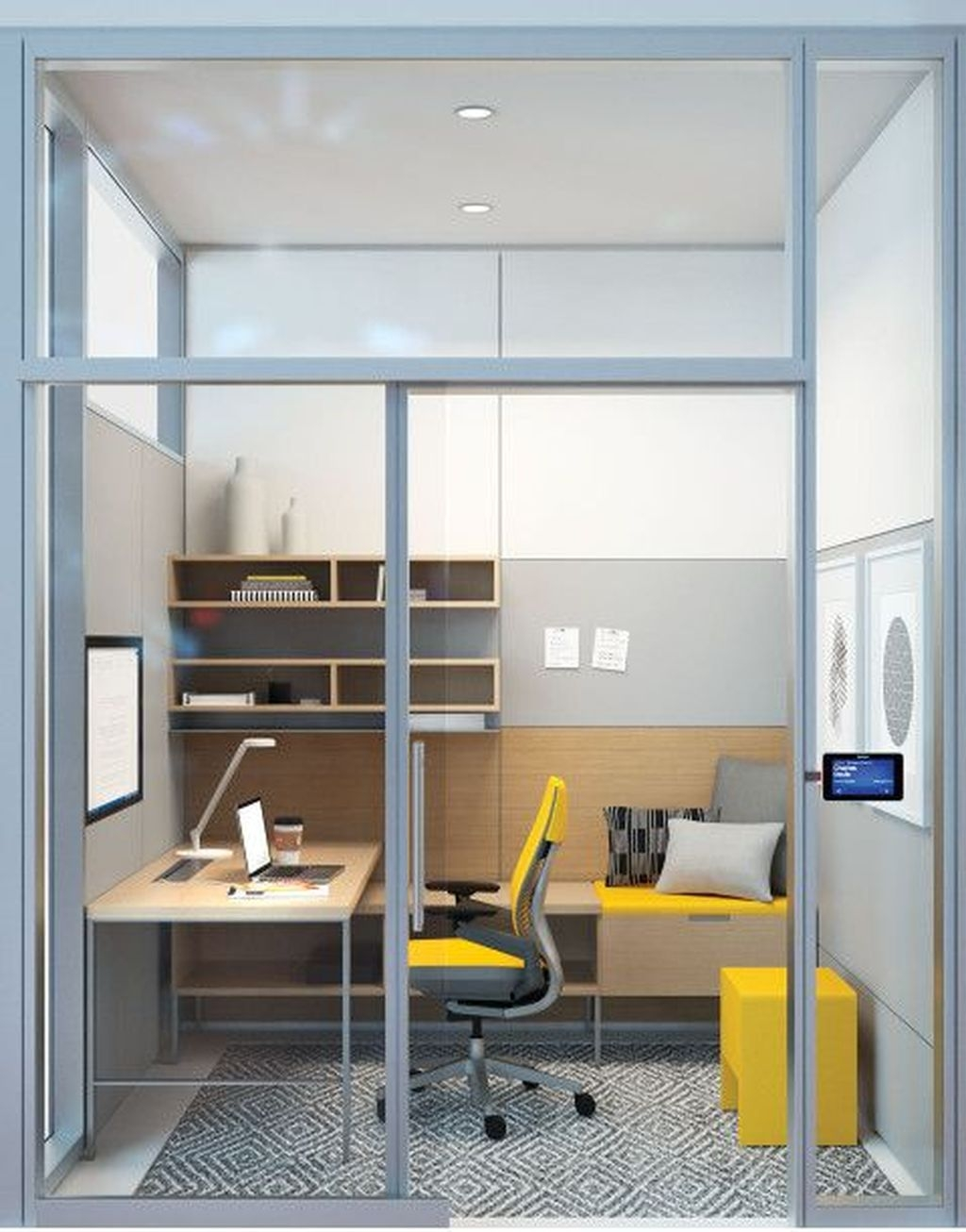 Fabulous Office Furniture For Small Spaces14