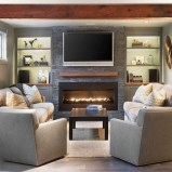 Impressive Living Room Ideas With Fireplace And Tv18