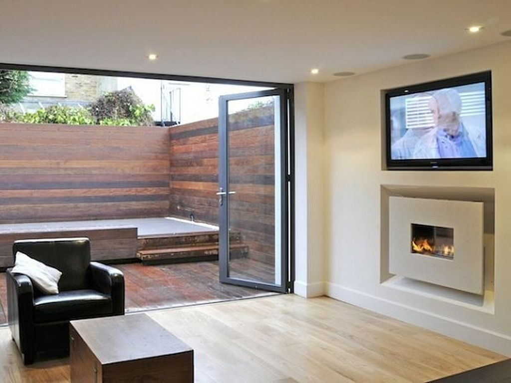 Impressive Living Room Ideas With Fireplace And Tv25