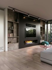Impressive Living Room Ideas With Fireplace And Tv31