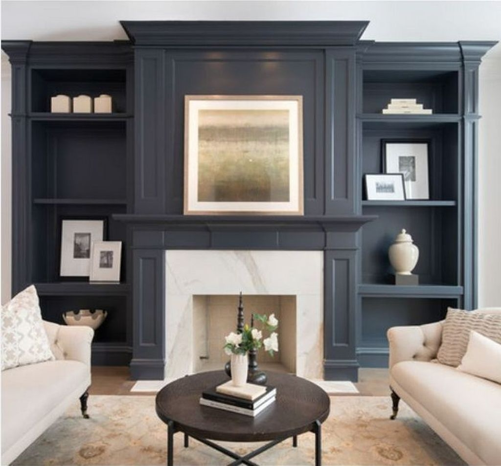 Impressive Living Room Ideas With Fireplace And Tv34