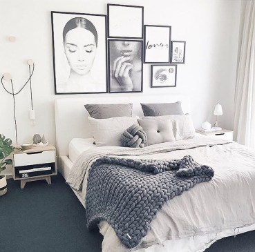 Inspiring Scandinavian Bedroom Design Ideas27