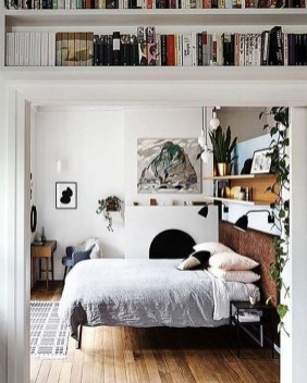 Inspiring Scandinavian Bedroom Design Ideas47