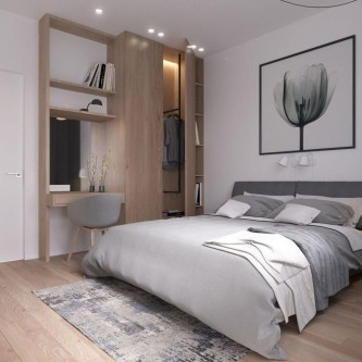 Awesome Modern Scandinavian Bedroom Design And Decor Ideas38
