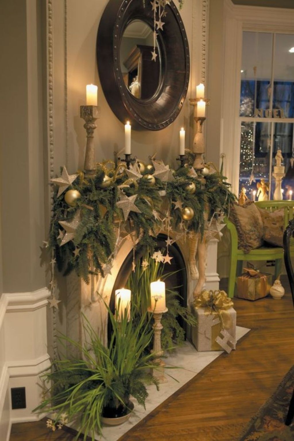 Best Ways To Decorate Your Circle Mirror With Garland19