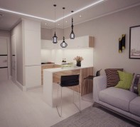 Cool Small Apartment Kitchen Ideas39